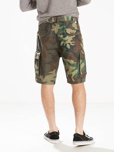 Details about  /NEW Boys Levi/'s Cargo Shorts Camouflage Green Beachnik Camo Belted Size 14