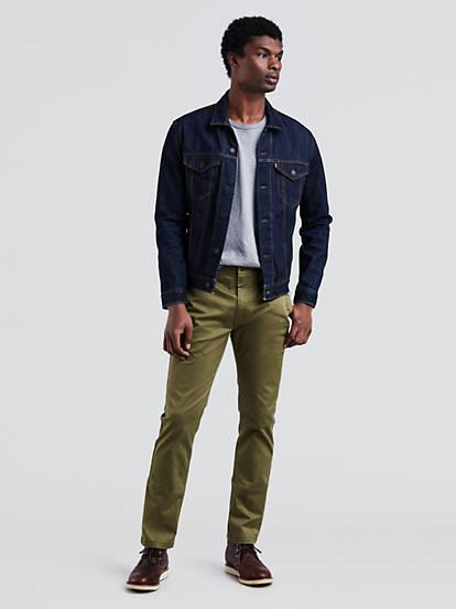 5b265692c89 511™ Slim Fit Chino Pants - Green | Levi's® US