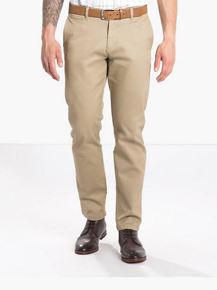 Refined Khaki Marina, Slim Tapered Fit - Stretch Twill