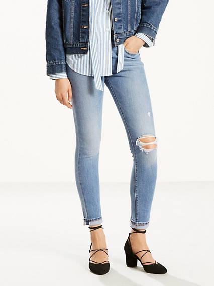 721 High Rise Skinny Selvedge Jeans