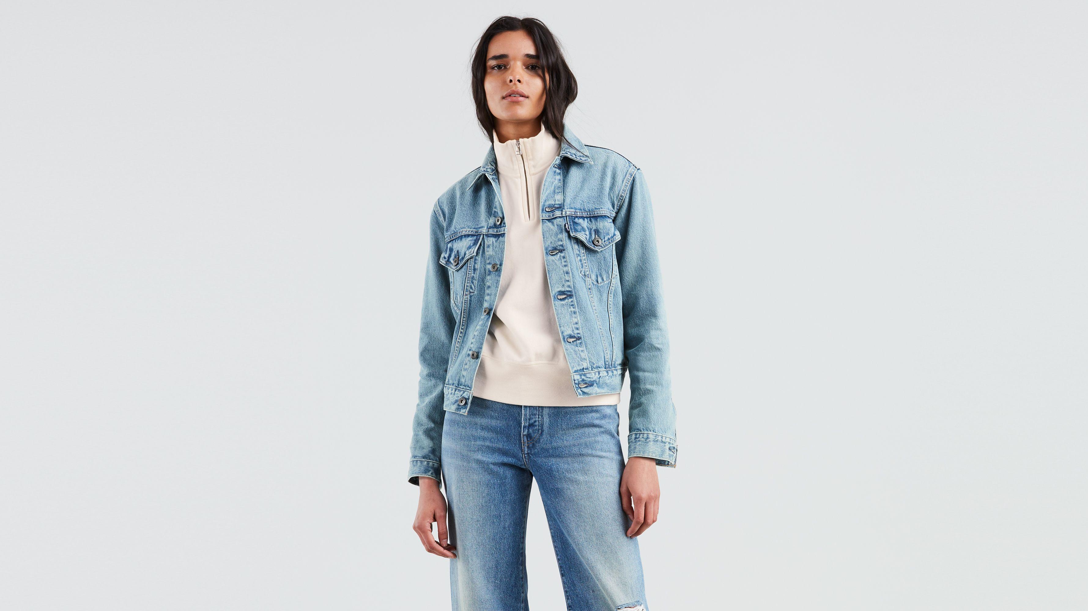 FR En amp; Jeans Levi's® Femme Sherpas Vestes YTOxpSw