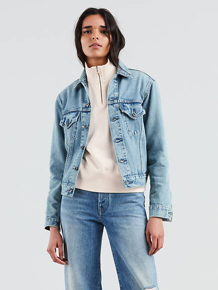 Levi's� Made & Crafted� Boyfriend Trucker Jacket