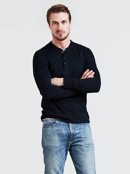 Ls Bryant Henley 2 T-Shirt