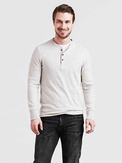 Long Sleeve Bryant Henley 2 T-Shirt