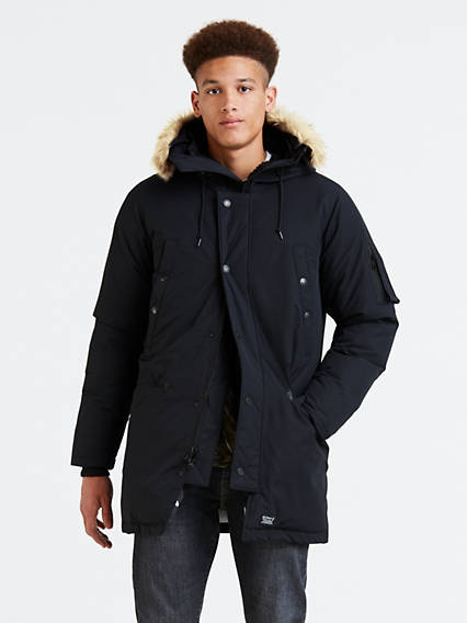Down Davidson Parka Coat