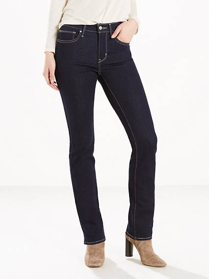 Slimming Straight Jeans