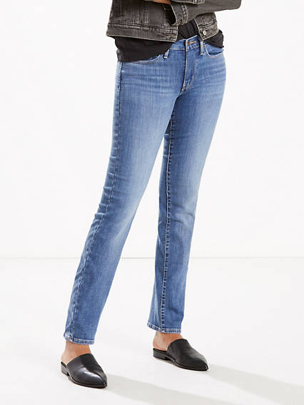 Slimming Straight Fit Jeans