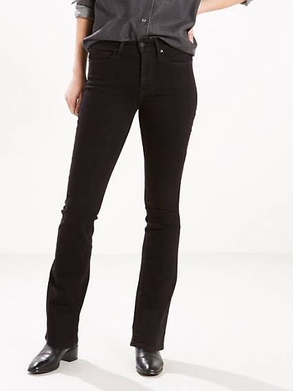 Slimming Boot Cut Jeans