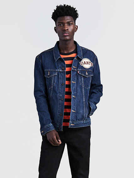 Levi's� MLB Denim Trucker Jacket