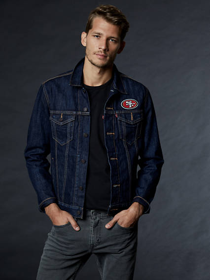 Levi's� NFL Denim Trucker Jacket