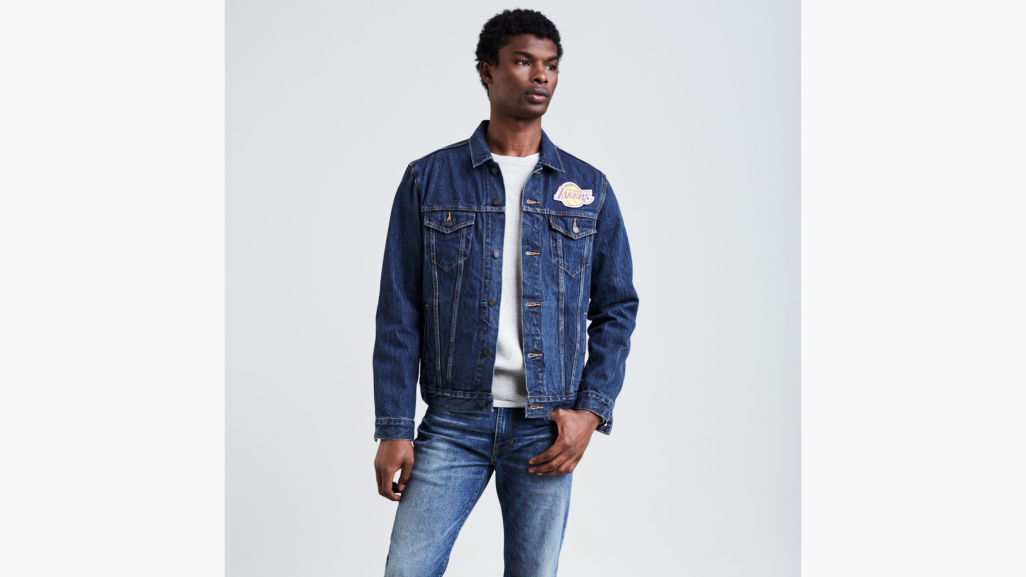 fa0fdd4588 Levi s® NBA Denim Trucker Jacket - Medium Wash