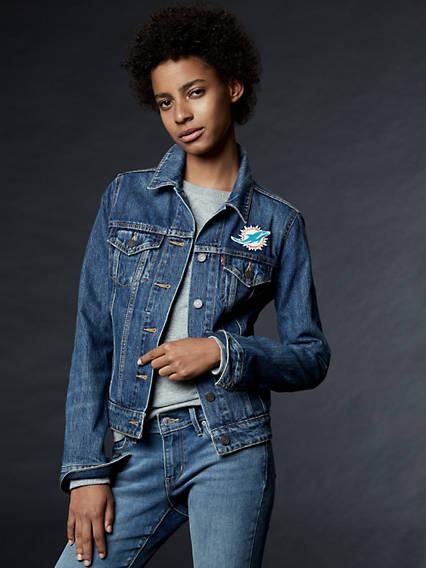 Levi's® NFL Denim Trucker Jacket
