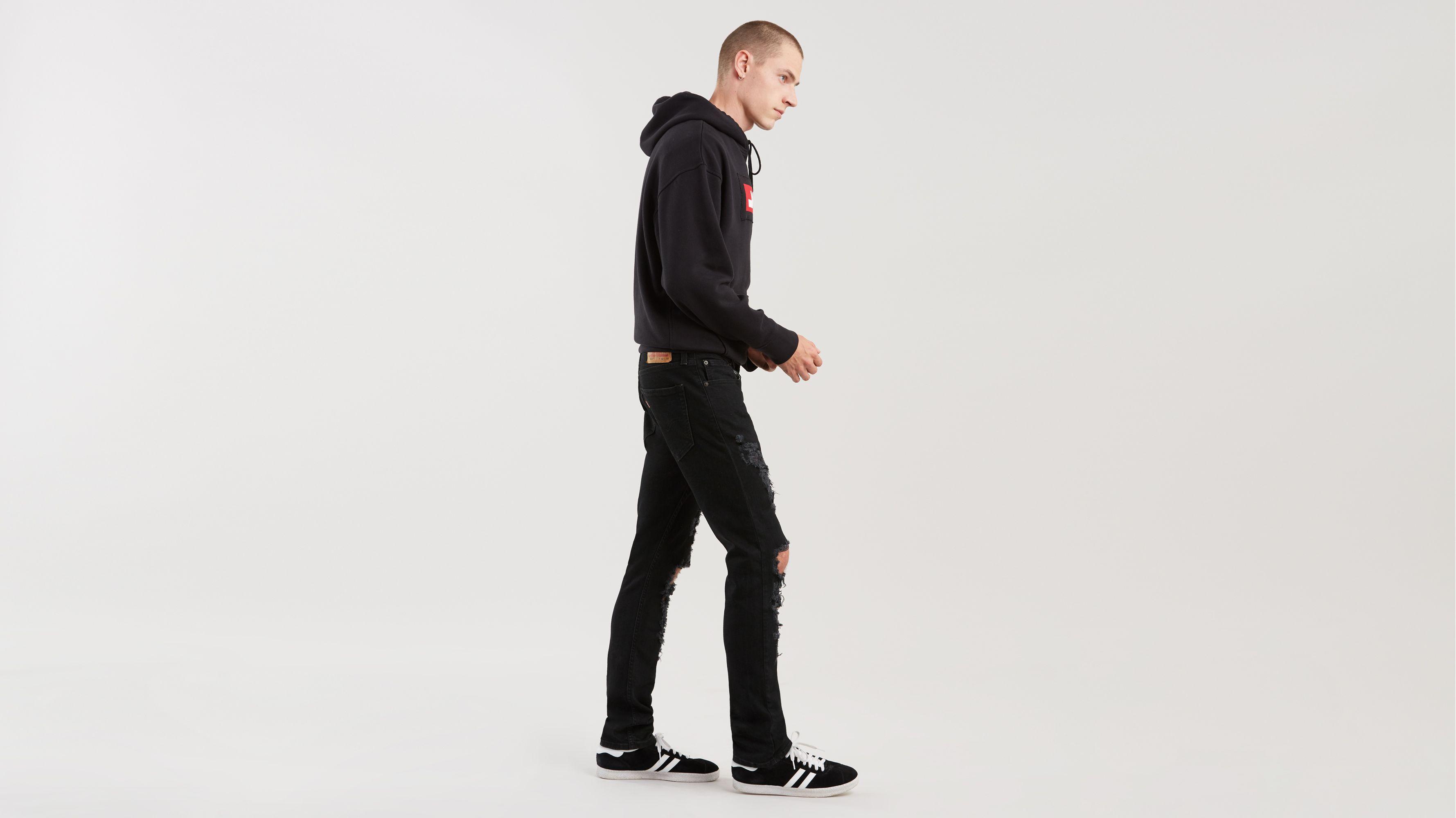 Red Levi/'s  512 SLIM Taper Stretch  Jeans