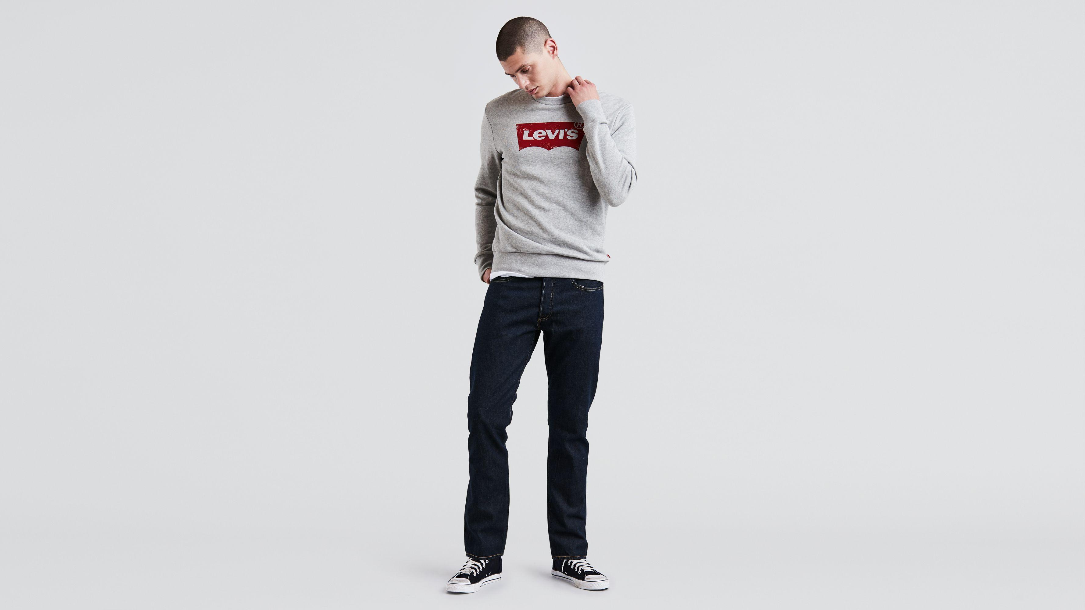 501 Ct Slim-fit Stretch-denim Jeans Levi's nWGEJc