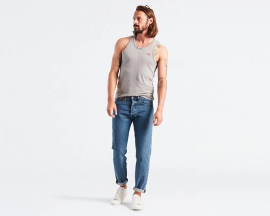 5b594c51f91 501® Slim Taper Fit Men's Jeans - Dark Wash | Levi's® US