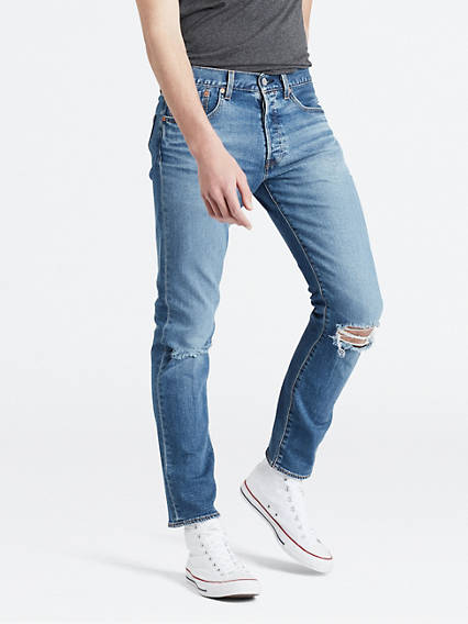 501® Slim Taper Jeans - Mittlere Waschung / Ironwood | Bekleidung > Jeans > Sonstige Jeans | Mittlere waschung|ironwood | Baumwolle | Levi's