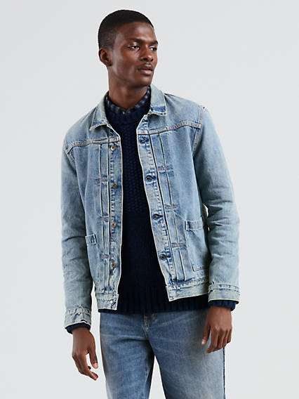 Levi's� Made & Crafted� Type Ii Worn Trucker Jacket