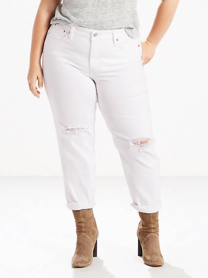 Boyfriend Jeans (Plus)
