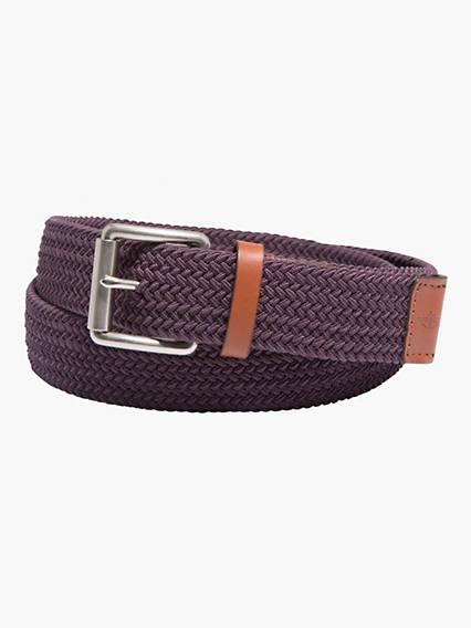 The Haight Stretch Braid Belt