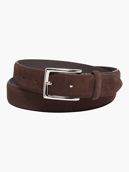 Seasonal Suede Presidio Belt