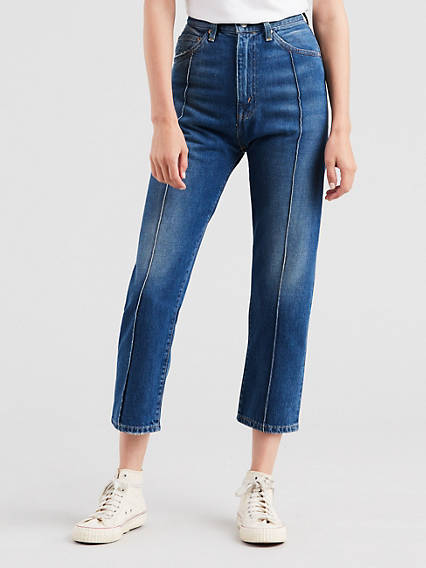 1950'S 701 Pin Tuck Crop Jeans