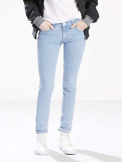 The Line 8 Mid Skinny Jeans