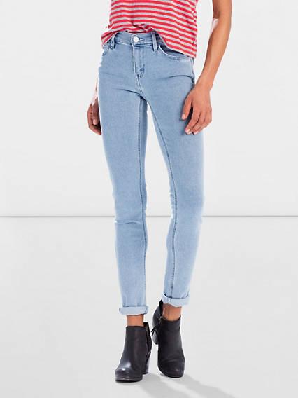 Line 8 Mid Skinny Jeans