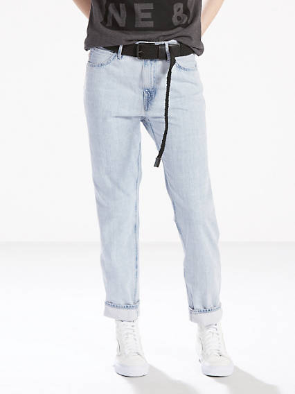 The Line 8 Baggy Crop Jeans