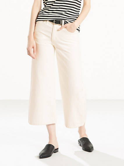 The Wide-Leg Culotte Jeans