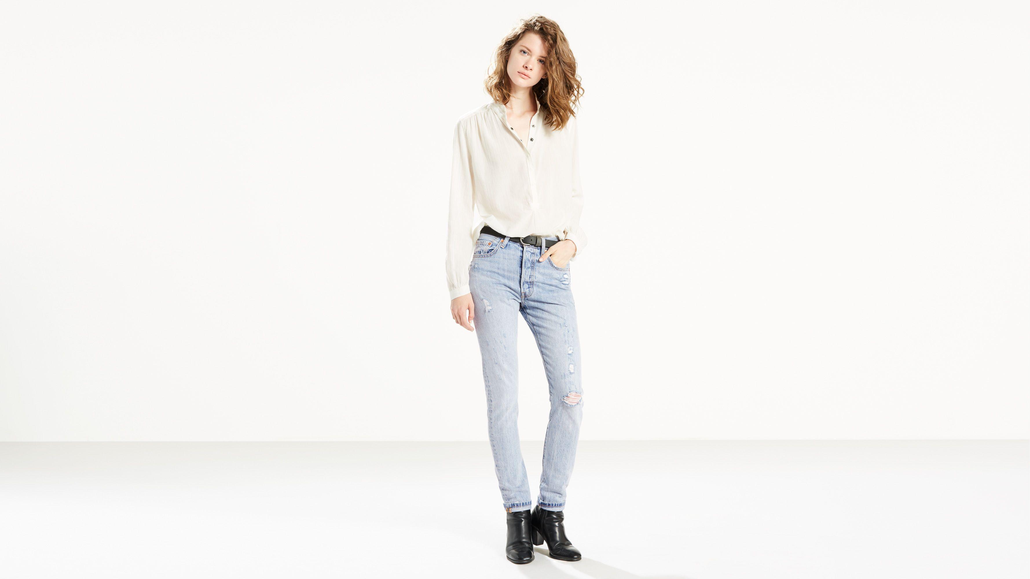 eed374c1 501® Skinny Jeans - Light Wash | Levi's® US