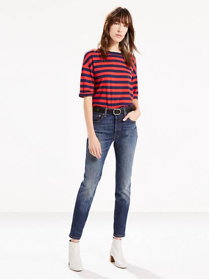cb3589345e34 501® Stretch Skinny Jeans - Medium Wash | Levi's® US