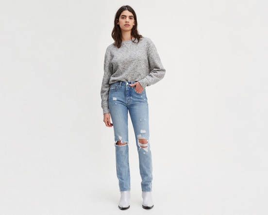 ca4644ca 501® Skinny Selvedge Jeans - Light Wash | Levi's® US