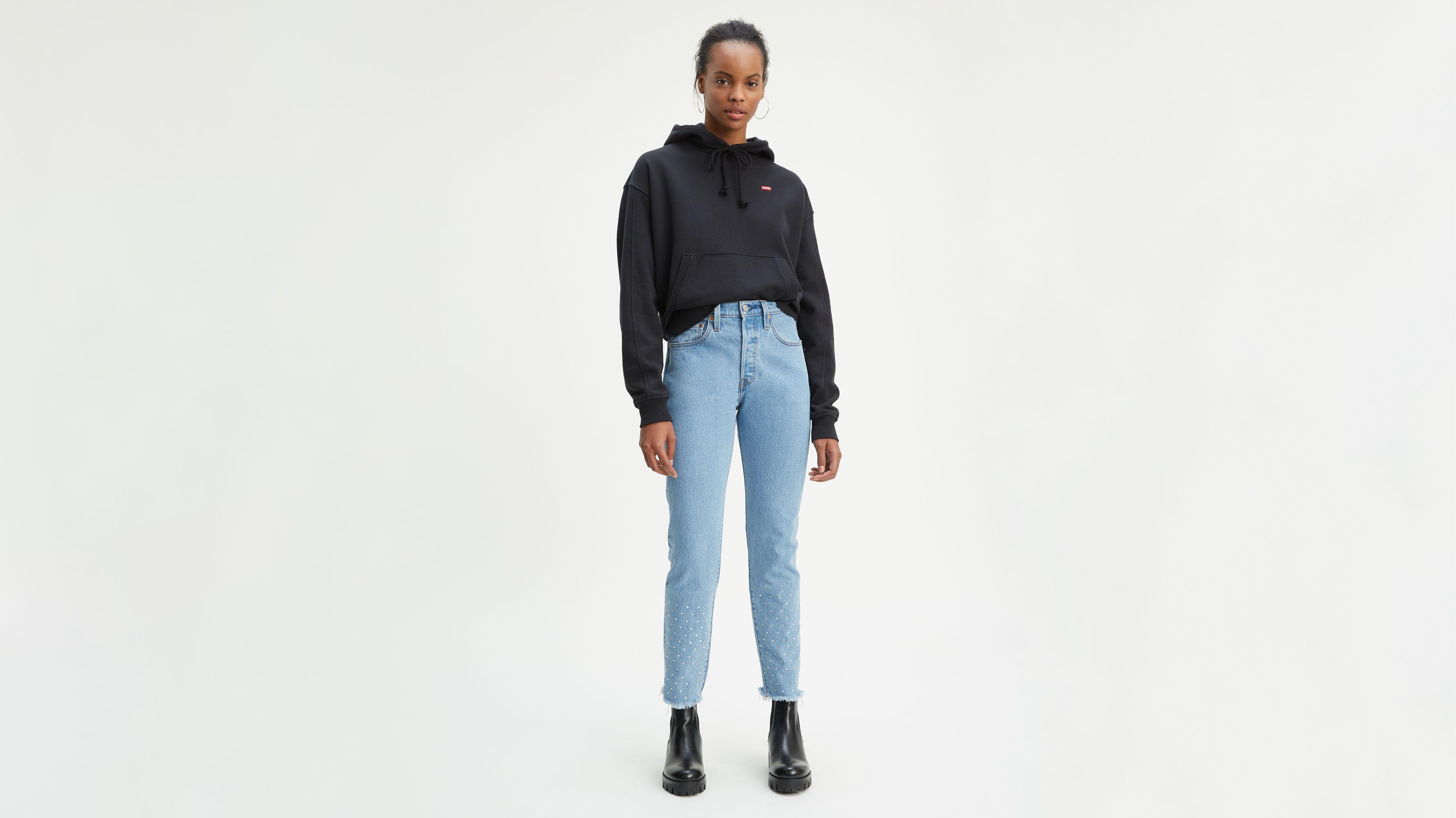 levis jeans damen skinny weiß