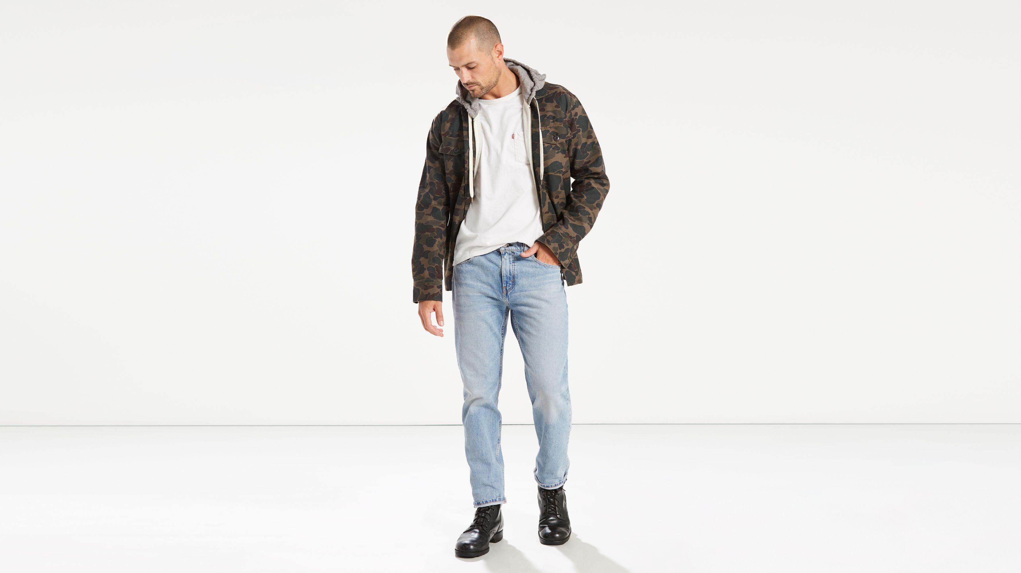 9d9b9bfd390 502™ Regular Taper Fit Stretch Jeans - Light Wash   Levi's® CA