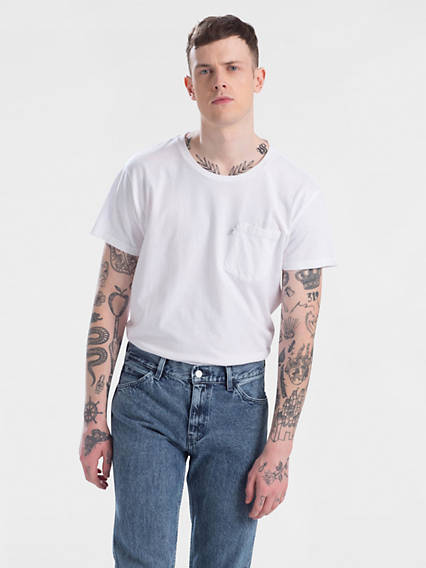 Line 8 Long Line Short Sleeved Tee