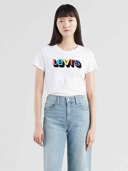 Levi's® Logo Cropped Tee