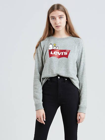 Levi's® X Peanuts Graphic Crewneck Sweatshirt