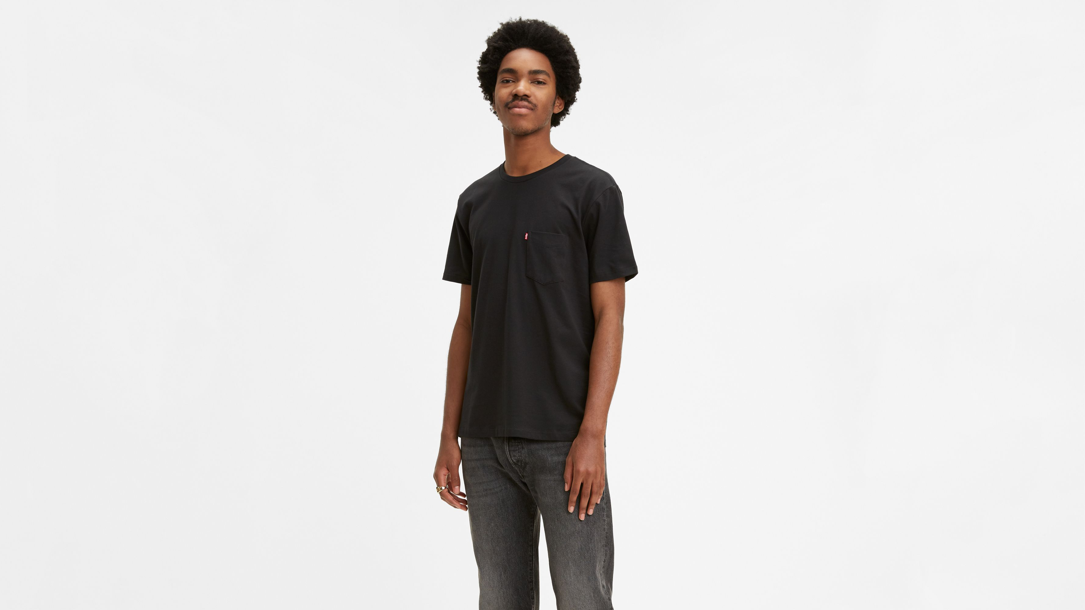 073fabc8d Sunset Pocket Tee Shirt - Black | Levi's® US