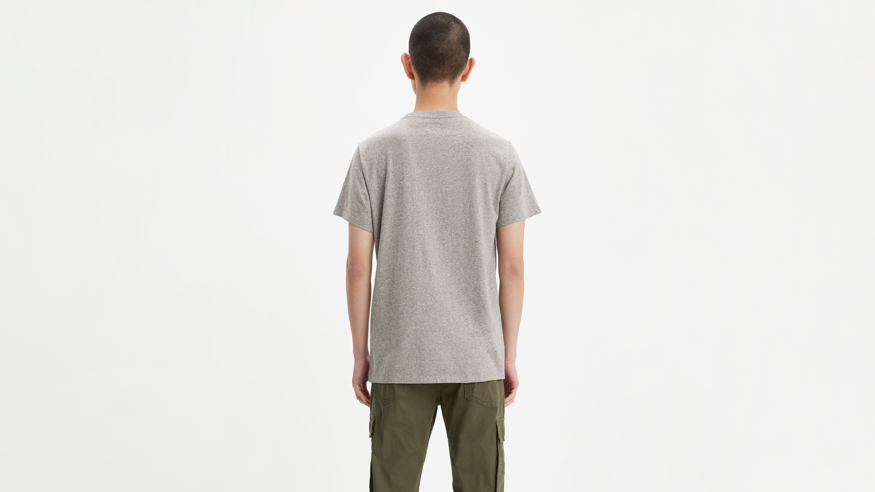 048a0d07 Sunset Pocket Tee Shirt - Grey | Levi's® US