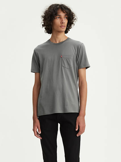 Short Sleeve Set-In Sunset Pocket Tee
