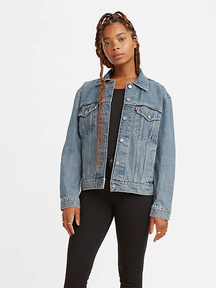 5d4b13fbed4a Jean Jackets - Shop Women s Denim Jackets   Outerwear