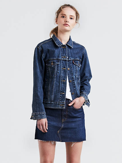 Women S Casual Jackets Jean Outerwear On Sale Levi S Us