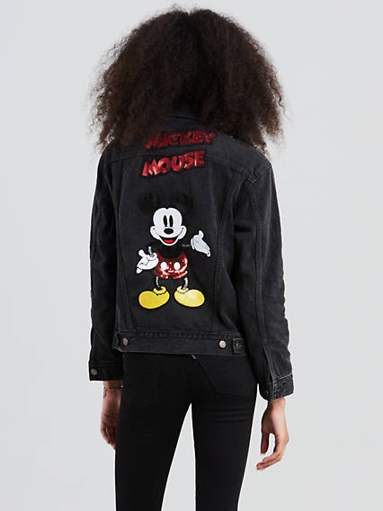 Levi's® X Mickey Mouse Ex-Boyfriend Trucker Jacket