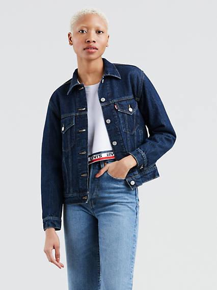Levi's® Extra Ex-Boyfriend Trucker Jacket