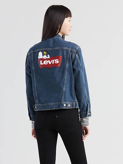Levi's® x Peanuts Ex-Boyfriend Trucker Jacket