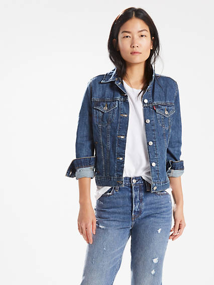 cf64312dd5294 Jean Jackets - Shop Women's Denim Jackets, Vests & Outerwear | Levi's® US