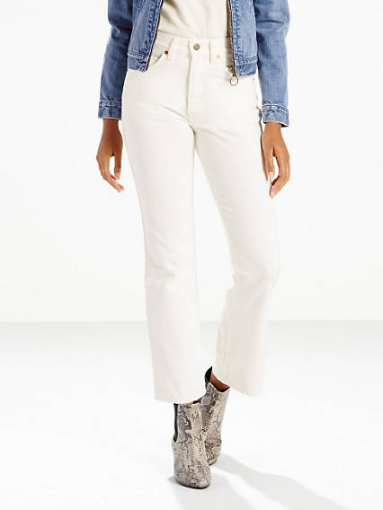 Orange Tab 517 Cropped Boot Cut Jeans