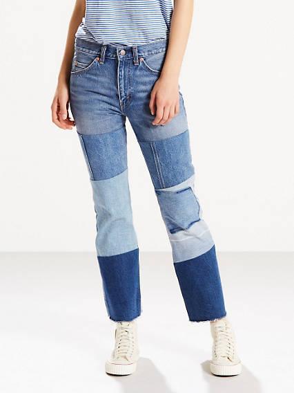 Orange Tab 517 Cropped Boot Cut Women's Jeans