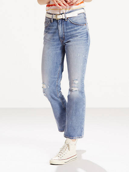 517 Cropped Boot Cut Jeans