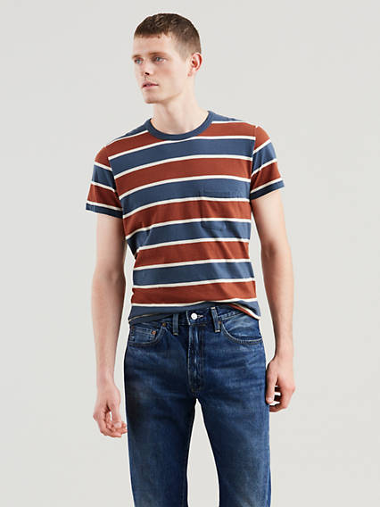 1960'S Casuals Stripe T-Shirt